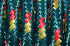 Colored rope Royalty Free Stock Photo