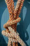 Colored rope stock photography