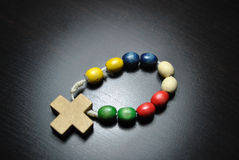 Colored Rosary Royalty Free Stock Image