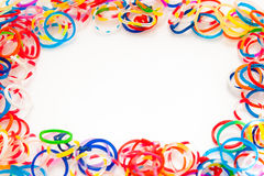 Colored rubber bands Royalty Free Stock Photos