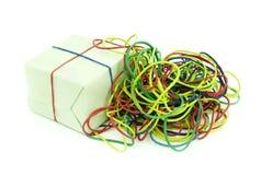 Colored rubber kolechki Stock Image