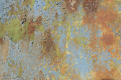 Colored rusty background Stock Images