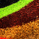 Colored sand Royalty Free Stock Photography
