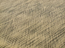 Colored Sand Patterns Stock Photos