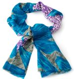 Colored scarf or pashmina Stock Images