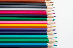 Colored school pencils Royalty Free Stock Image