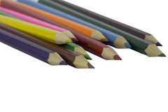 Colored School Pencils Stock Photography