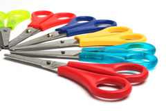 Colored scissors Royalty Free Stock Photo