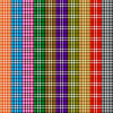 Colored scottish pattern Royalty Free Stock Image