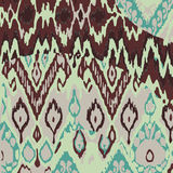 Colored seamless ethnic  print pattern vector  Royalty Free Stock Images