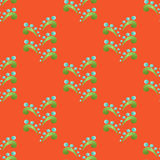 Colored Seamless Floral Pattern in Ethnic Style Stock Images