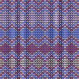 Colored Seamless knitted background Royalty Free Stock Images