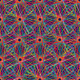 Colored seamless pattern Royalty Free Stock Images