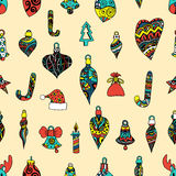 Colored Seamless pattern Royalty Free Stock Photo