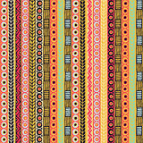 Colored seamless pattern of stripes. Stock Photos