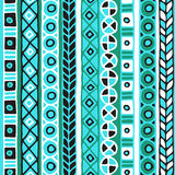 Colored seamless pattern of stripes. Stock Photography
