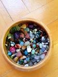 Colored Semi-precious Stones Stock Image