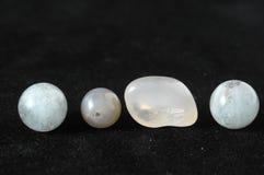 Colored Semi Precious Stones royalty free stock photos