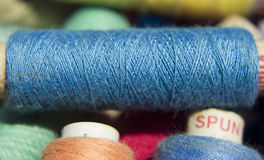 Colored Sewing Thread Stock Photography