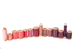 Colored sewing thread Stock Photos