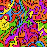 Colored shapes Royalty Free Stock Photos