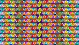 Colored shapes and background royalty free stock photo