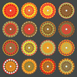 Colored Shapes Set 1 Royalty Free Stock Photos