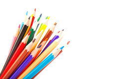 Colored sharp pencils Stock Photo