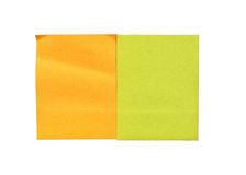 Colored sheets for recording Stock Photos