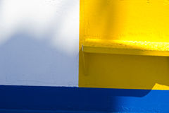 Colored ship detail Stock Image