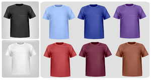 Colored shirts. Royalty Free Stock Images