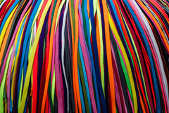Colored shoelaces Royalty Free Stock Photo