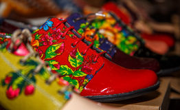 Colored shoes. Stock Photo