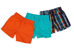 Colored shorts Stock Image