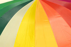 Colored slices Stock Photography