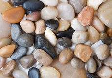 Colored small gravel Stock Photo