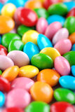 Colored smarties Royalty Free Stock Image