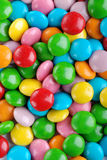 Colored smarties. To decorate cakes Royalty Free Stock Photography