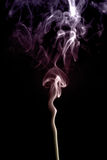 Colored smoke. Beautiful abstract form of coloured smoke Royalty Free Stock Photos
