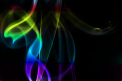 Colored smoke Royalty Free Stock Photos