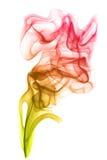 Colored smoke Stock Image