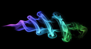 Colored smoke Stock Photos