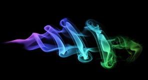 Colored smoke Stock Photos