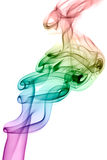 Colored Smoke Royalty Free Stock Photo