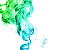 Colored smoke isolated Royalty Free Stock Image