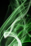 Colored smoke isolated on a black background Royalty Free Stock Photo