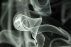 Colored Smoke with plain background Royalty Free Stock Photography