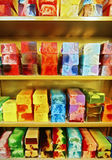 Colored soap Royalty Free Stock Photography
