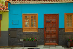 Old Canarian house Stock Photo