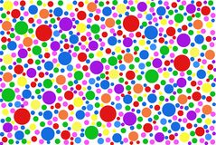 Colored specks Royalty Free Stock Photos